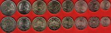Buy Austria euro full set 8 coins 1 cent  2 euro 20112015 UNC with Paypal