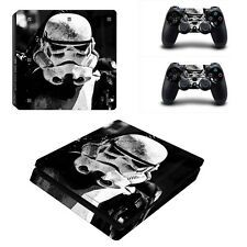 Star Wars Vinyl Skin Sticker For Sony PS4 Playstation 4 Slim Console Controller On Line