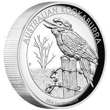 SALE 2016 Australian Kookaburra 1oz Dollar 1 Silver Proof High Relief Coin Australia