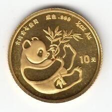 Get Rabate CHINA 1984 110 oz PURE GOLD 10 Yuan Chinese Panda Coin