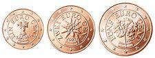 Low Price New listing   Austria 1 2  5 Euro Cent 2002 UNC