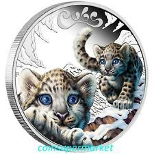 The Cheapest 2016 Australia The Cubs  Snow Leopard 12oz Silver Proof Coin Perth Mint OGP Online