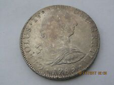 Buy Mexico 1789 Mo FM 8 Reales Silver Coin   Nice Coin Online