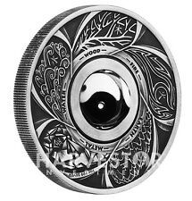 Low Price 2016 YIN YANG ROTATING CHARM  PERTH MINT   ANTIQUED 1 OZ SILVER COIN  PERTH