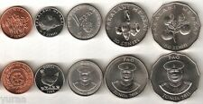 Tonga  Set of 6 Coins 19812011 XFUNC 2 5 10 20 50 Seniti Under 50