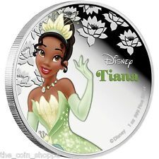 Cheapest TIANA  2016 1 oz Silver Color Proof Coin  DISNEY Princess Series  Niue Online