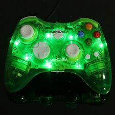 Promo Offer Green Glow Light Wireless Gamepad Remote Controller For Microsoft Xbox 360