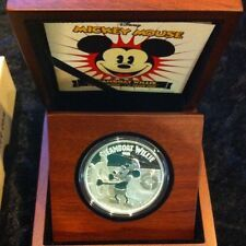 2014 2 Disney STEAMBOAT WILLIE Mickey Mouse 1 Oz Silver Proof Coin Compare Prices