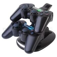 Buy Online LED Dual Controller Charger Dock Station Stand Charging For Playstation 3 PS3