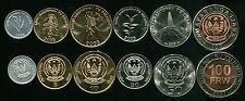 Big Discount RWANDA SET 6 COINS 1 5 10 20 50 100 AMAFAR 20032007 UNC
