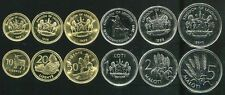 LESOTHO SET OF 6 COINS 10 20 50 LISENTE 1 2 5 MALOTI 19982010 UNC On Line