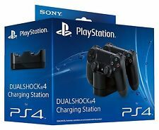 OFFICIAL PS4 DOCK STAND DUALSHOCK 4 CONTROLLER CHARGING STATION NEW for Sale