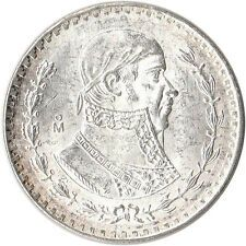 Buy 1965 Mexico 1 Peso Large Silver Coin Jose Morelos KM459 with Paypal