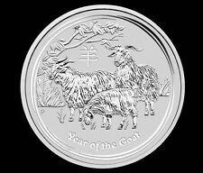 Best Price for 2015 5 oz Silver Australian Year of the Goat Coin Bullion Australia