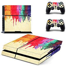 SALE New Vinyl Skin Sticker For Sony PS4 PlayStation 4 Console Decal Controller