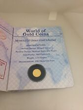 Big Discount 2005 World Of Gold Coins Passport  Mexico 120 Ounce gold Libertad
