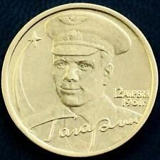 RARE RUSSIAN COIN 2 RUBLES 2001  40th Anniversary of the Space Flight Gagarin Reviews
