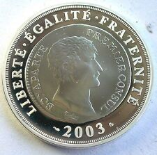 Cheap Price France 2003 Napoleon 112 Euro Silver CoinProof