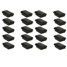 20x New Battery Pack Cover Shell Case Kit for Xbox 360 Wireless Controller Black Compare Prices