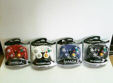 On Sale 4 BRAND NEW CONTROLLERS FOR NINTENDO GAMECUBE or Wii BLACK WHITE RED BLUE