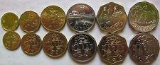 Buy Macau set of 6 coins 19932008 102050 avos  125 pataca UNC with Credit Card