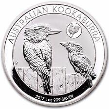 Discounted 2017 Australia Kookaburra Rooster Privy Silver Coin BU 1oz 999