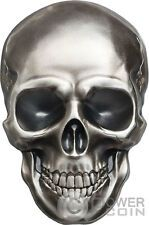 Promo Offer SKULL NO 1 Shape 1 Oz Silver Coin 5 Palau 2016