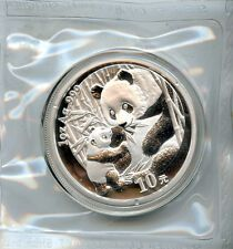 Best Reviews 2005 10 Yn Panda 1oz Silver Chinese Coin Gem BU in original mint plastic  Bonus