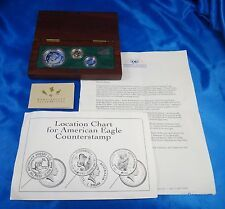 SALE 1992 Australia 1 25 Platinum Gold Silver Proof Coin Set Box COA