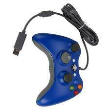 Best Savings for Blue USB Wired Game Pad Controller for Microsoft Xbox 360 PC Windows New