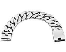Price Compare Rocker Biker Bike Men Cuban Curb 316L Silver Stainless Steel Bracelet Links