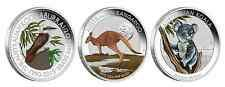 Price Comparisons 3 COIN SET AUSTRALIAN OUTBACK 2015 12OZ SILVER COLOURED COLLECTION Australia