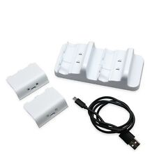 Low Cost Dual Charger Dock Recharge Battery for Microsoft Xbox One S Wireless Controller
