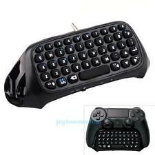 Best Reviews Black Wireless Bluetooth Keyboard Chatpad Keypad For PlayStation4 PS4 Controller