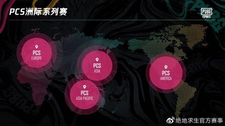 【2021年PCS四大洲际赛区】
