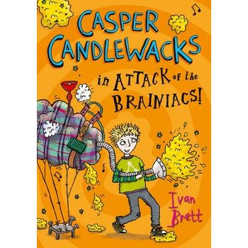CASPER CANDLEWACKS IN ATTACK OF THE BRAI