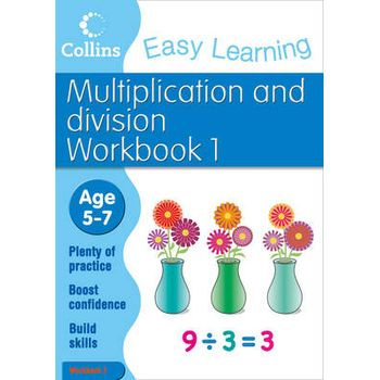 MULTIPLICATION AND DIVISION WORKBOOK 1