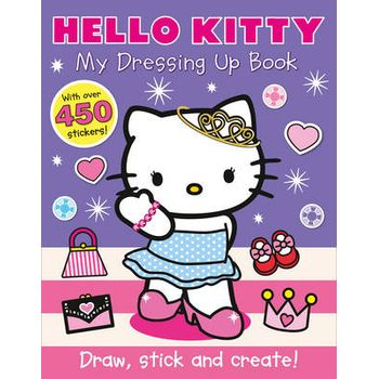 HELLO KITTY – MY DRESSING UP BOOK