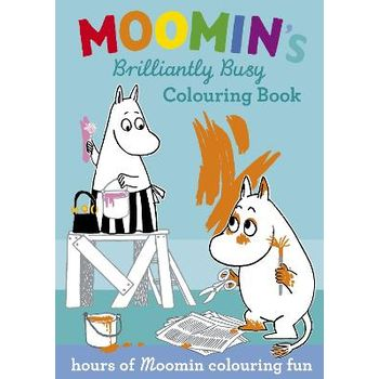 Moomin's Brilliantly Busy Colouring Book