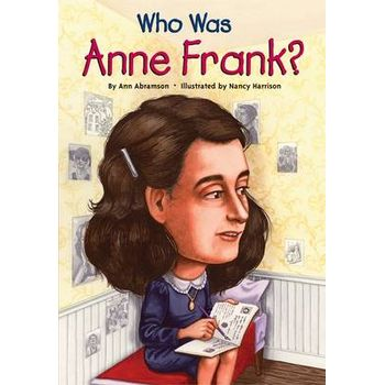 WHO WAS ANNE FRANKx