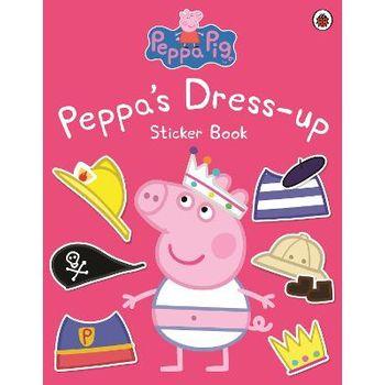 PEPPA DRESS-UP STICKER BOOK
