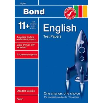 BOND 11+ TEST PAPERS ENGLISH STANDARD PA