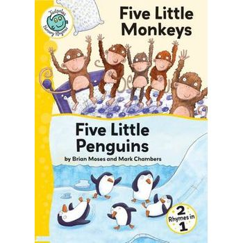 FIVE LITTLE MONKEYS; FIVE LITTLE PENGUI