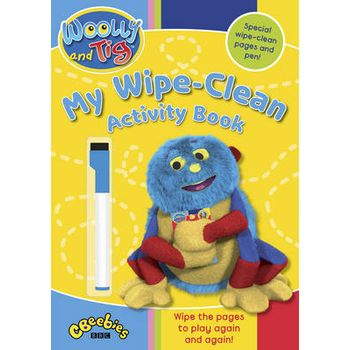 WOOLLY AND TIG: MY WIPE-CLEAN ACTIVITY B