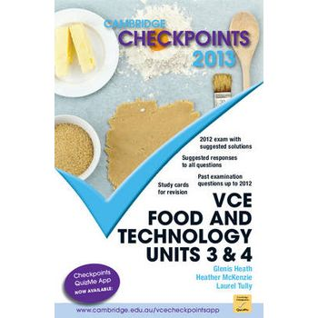 CAMBRIDGE CHECKPOINTS VCE FOOD AND TECHN