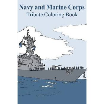 NAVY AND MARINE CORPS TRIBUTE COLORING B