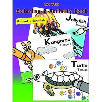 [TWO YEHS] COLORING & ACTIVITY BOOK; AN