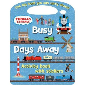 THOMAS AND FRIENDS BUSY BOYS ACTIVITY BO