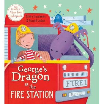 GEORGES DRAGON AT THE FIRE STATION