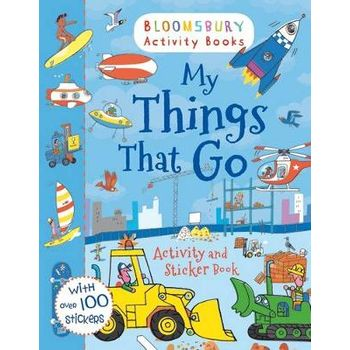 MY THINGS THAT GO! ACTIVITY AND STICKER